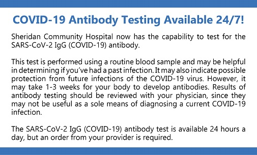 COVID-19 Antibody Testing Available 24/7