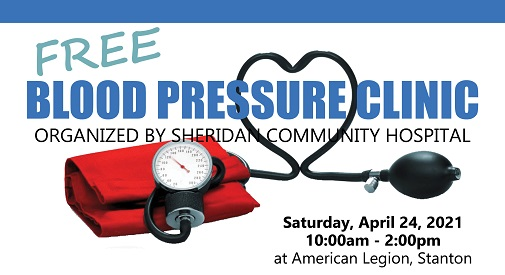 Blood Pressure Clinic - April 24