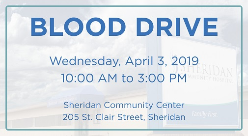 Blood Drive - April 3