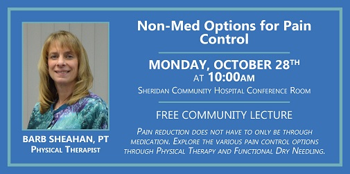Non-Med Options for Pain Control