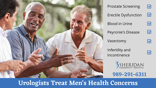 Urology Treats Men's Health Concerns