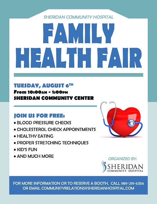 Family Health Fair 8-6-19